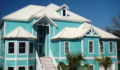 best quality Metal Roofing  in Atlantic Beach NC - Bone white color, Maddox Metal Roofing